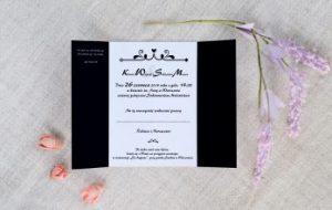 przykład umieszczenia tekstu na zaproszeniu