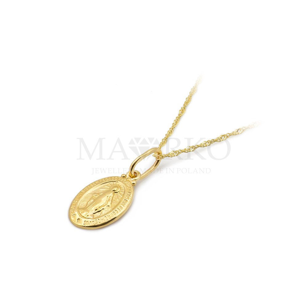Medaliki złote i srebrne dla każdego