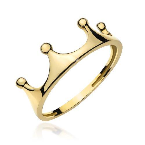 Złote pierścionki u jubilera