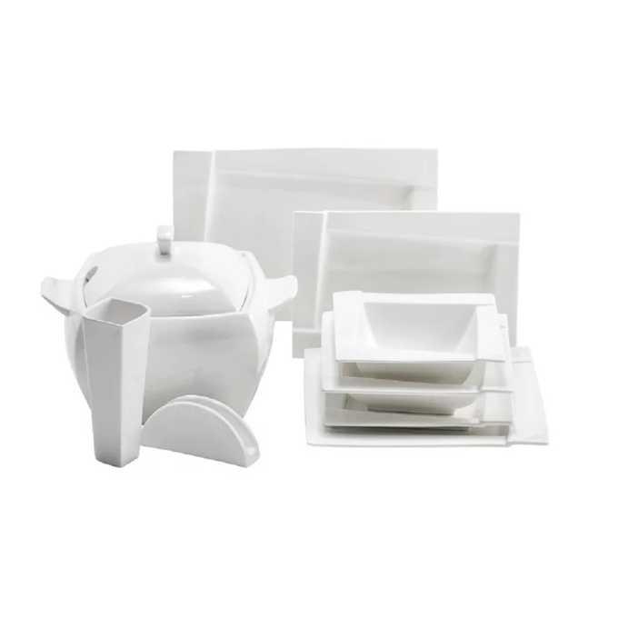 Co powinien zawierać kompletny zestaw talerzy obiadowych?