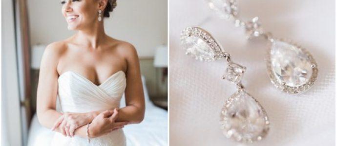 Kolczyki idealne na ślub